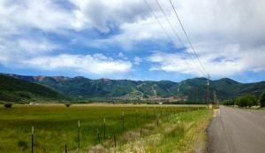I love good scenery on a run!