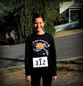 Me after the Great Pumpkin Run of 2012